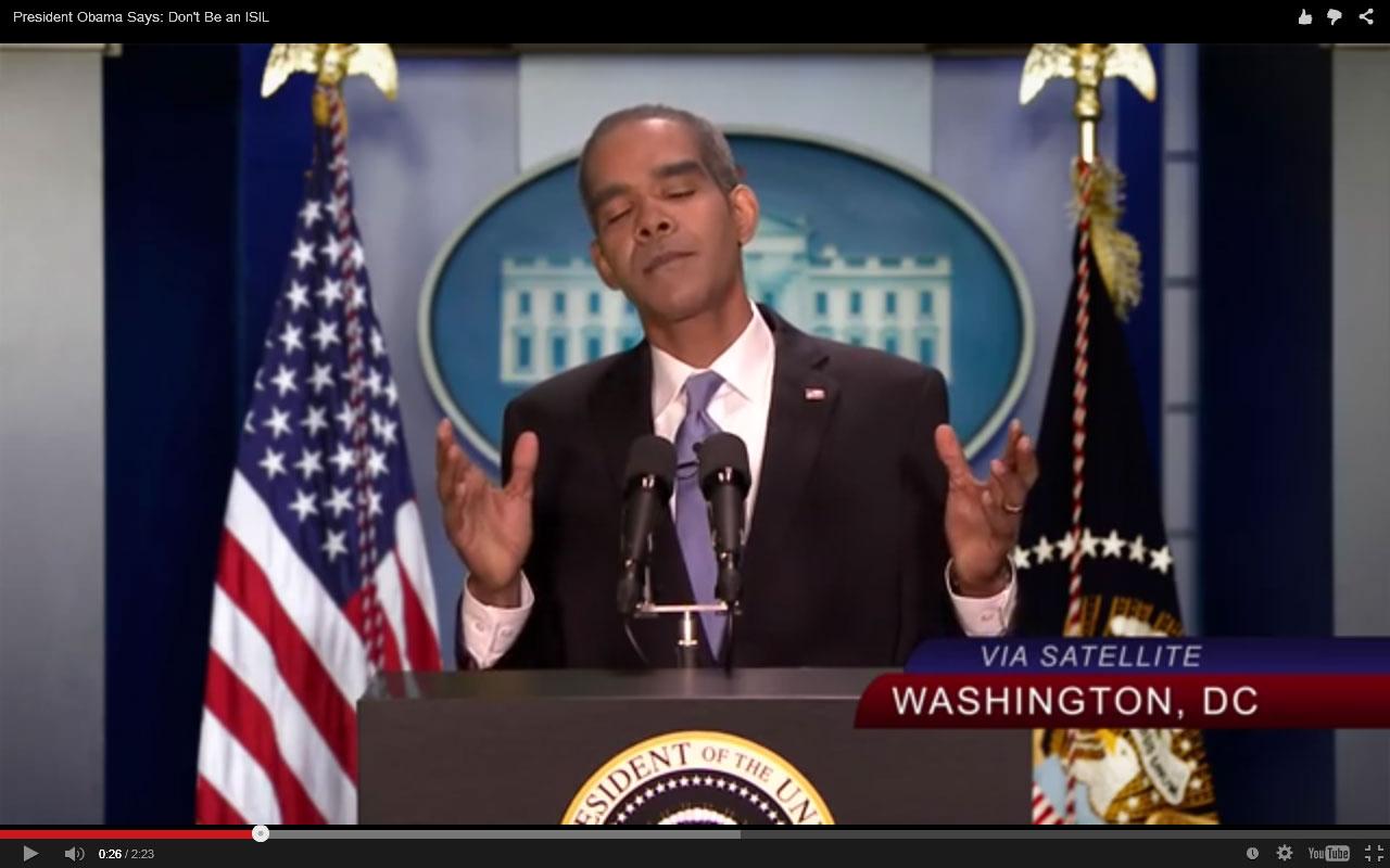 пародия на Обаму