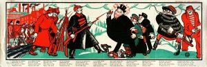 Антанта вводит санкции 1919 г