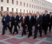 В воскресенье в Москве проходил неформальный саммит лидеров СНГ. ... Саммит открыл Владимир Путин. Он является главой совета лидеров государств